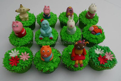 Peppa Pig & In The Night Garden Cupcakes