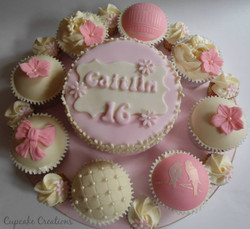 16th Birthday & Cupcakes