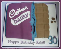 Cadburys Dairy Milk Birthday Cake