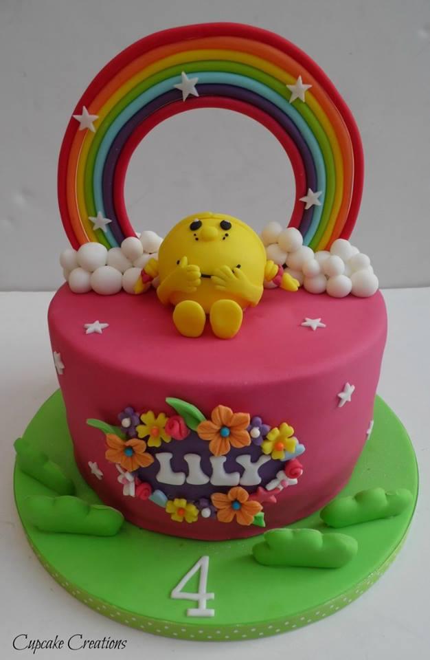 Little Miss Birthday Cake