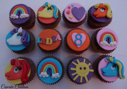 My Little Pony Cupcakes