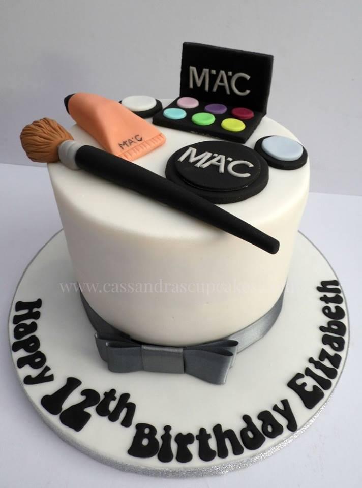MAC themed birthday cake
