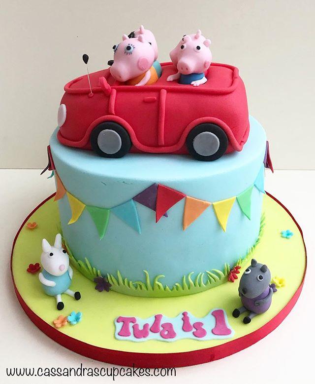 Peppa Pig Birthday Cake Huddersfield