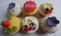 Monthers Day Cupcakes