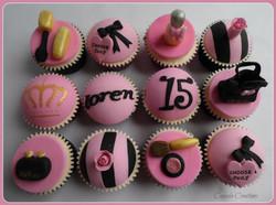 15th Birthday Cupcakes