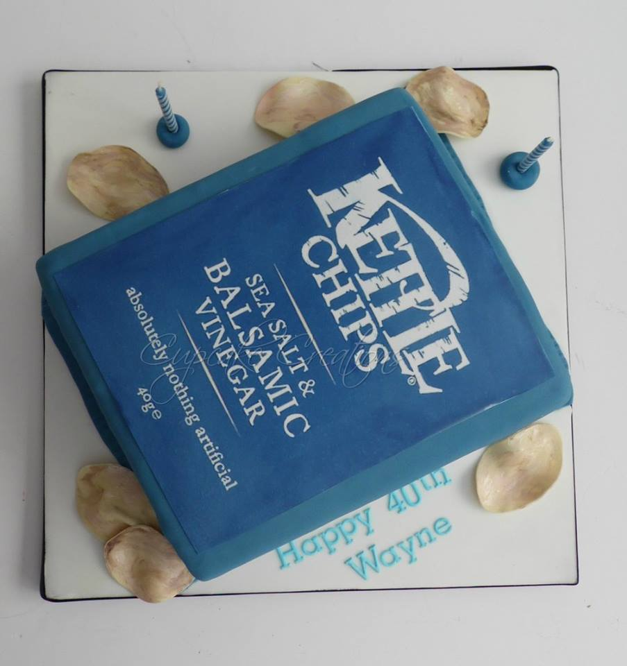 Kettle Chips Birthday Cake