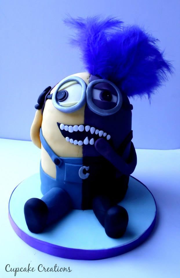 Minion 2 cake