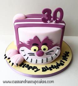 Cheshire Cat themed cat