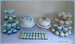 Christening Cake & Cupcake Set