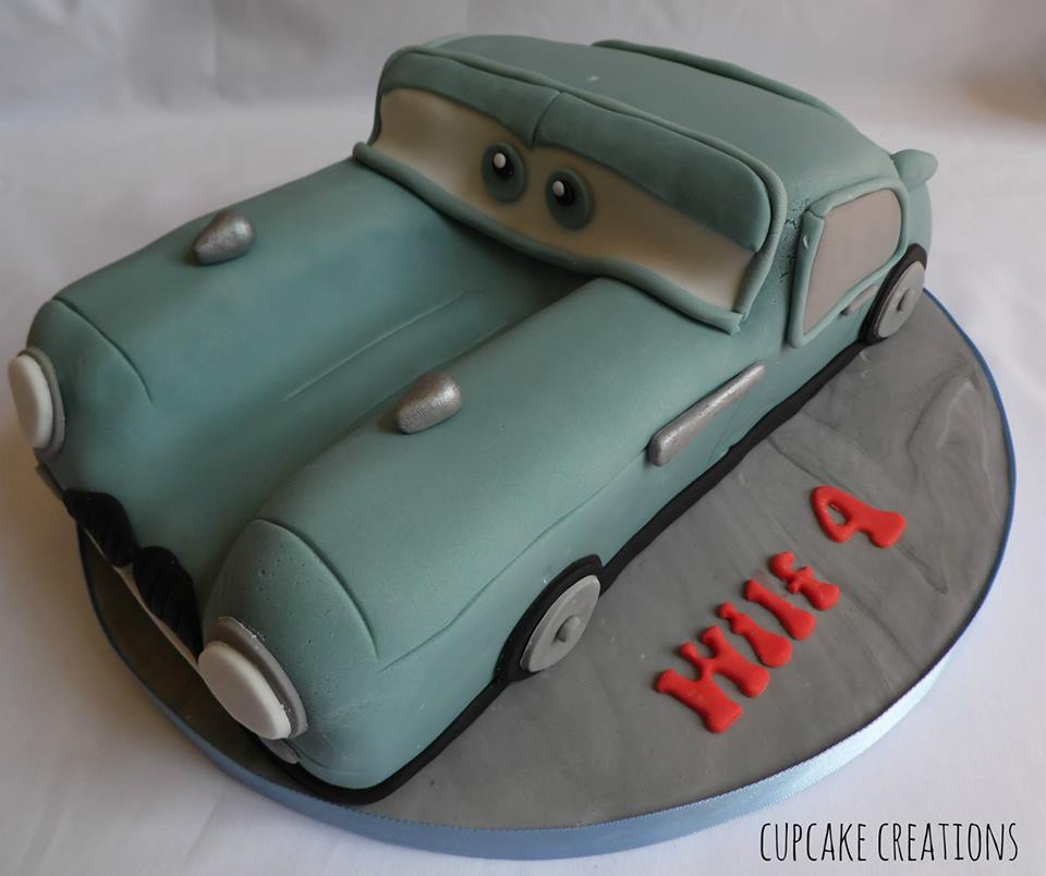 Finn McMissile Cars Birthday Cake