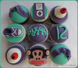 Girly Birthday Cupcakes