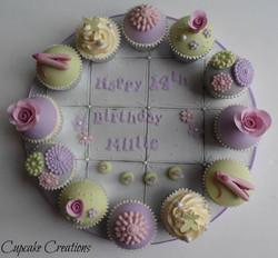 Pastel Birthday Board