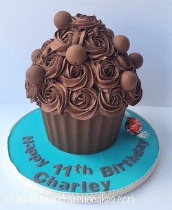Lindor Giant Cupcake (2)