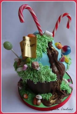 Giant Wonka Cupcake