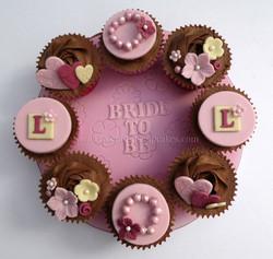 Hen Party Cupcake Board