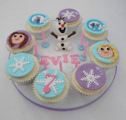 Frozen Cupcake Board