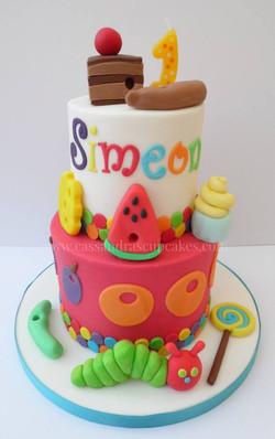 Hungry Caterpillar themed 1st birthday