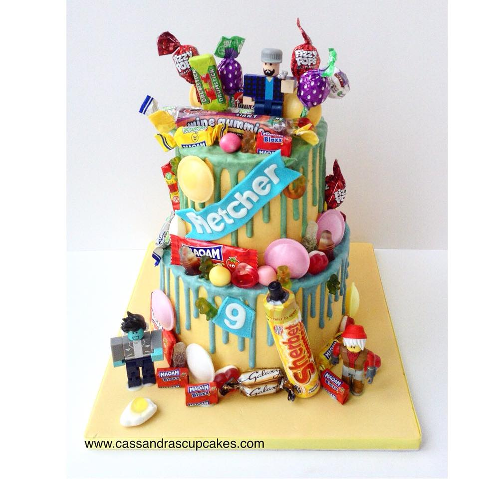 Roblox sweetie overload cake