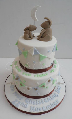 Guess How Much I Love You, Themed Christening Cake