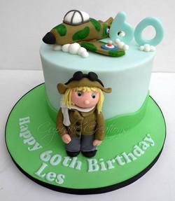 Spitfire 60th Birthday Cake