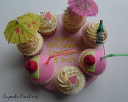 Cocktail Party Cupcakes