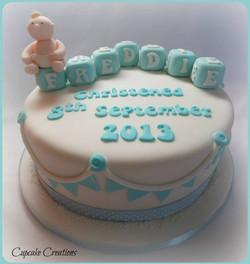 10' Christening Cake