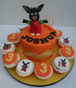 Bing Themed Birthday Cake