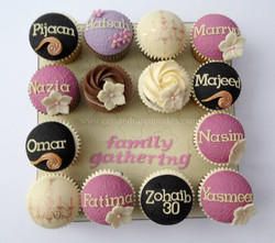 Family Cupcake Board