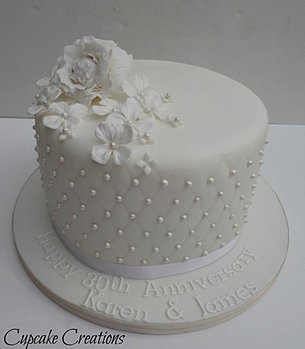 Cake Ideas For Pearl Wedding Anniversary : Anniversary Cakes in Halifax, Anniversary Cakes in ...