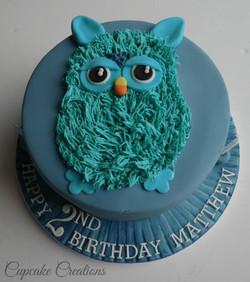 Furby Birthday Cake