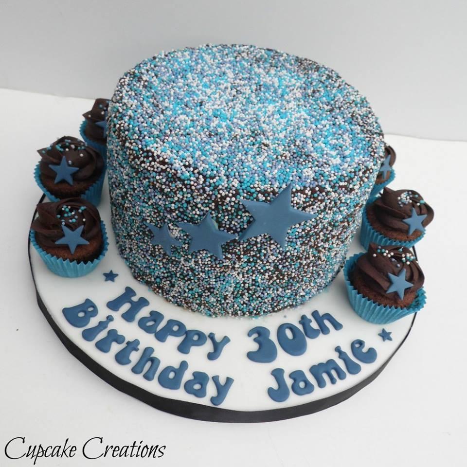sprinkles Birthday Cake