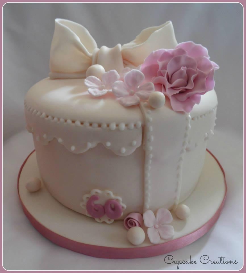 Hat Box Birthday Cake