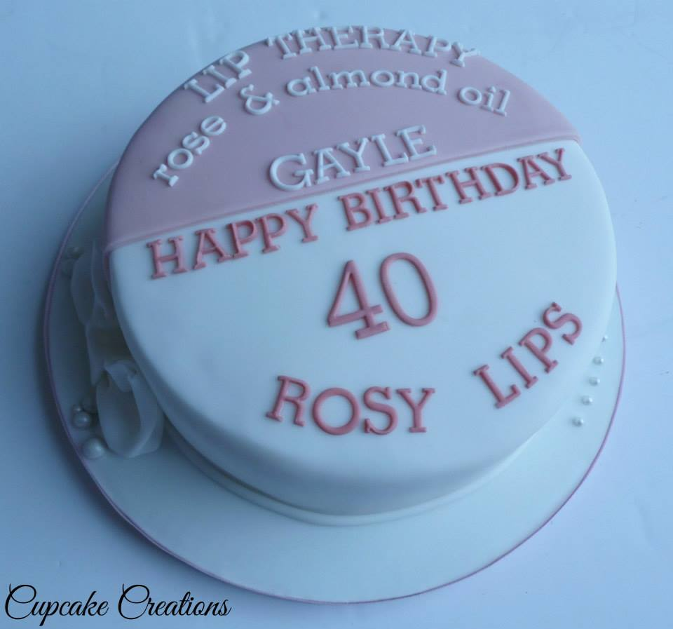 Rosy Lips Tin Style Cak