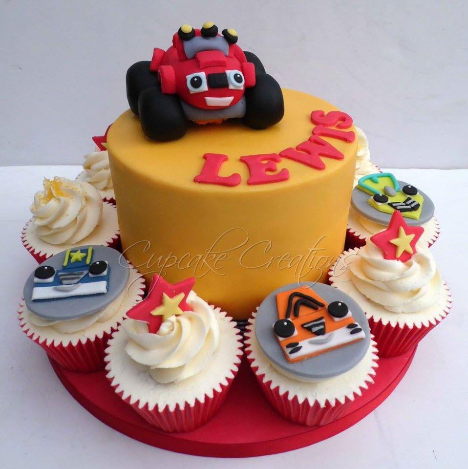 Blaze & The Monster Machines Birthday Cake