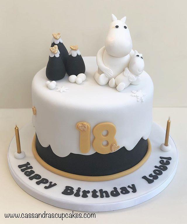 Moomin Birthday Cake