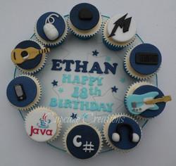 Boys Cupcake Board