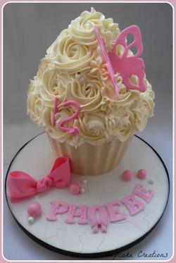 Birthday Giant Cupcake