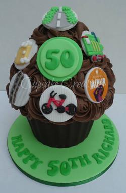 50th Giant Cupcake
