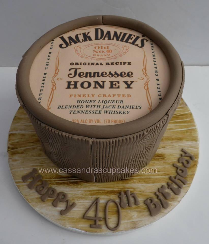Jack Daniels Tennessee Honey Cake