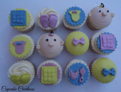 Baby Shower Cupcakes 3