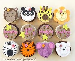 Cute Animal Cupcakes