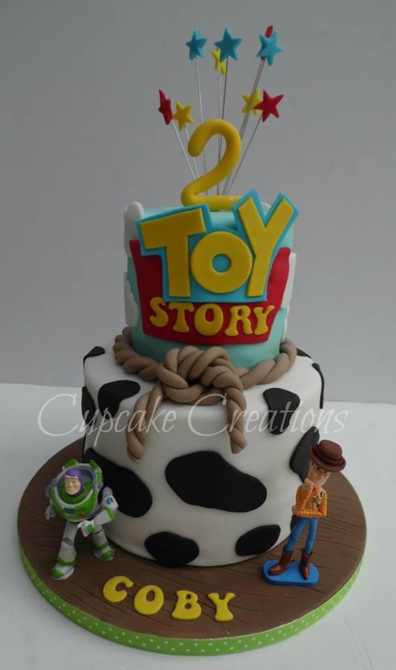 Toy Story Themed Birthday Cake