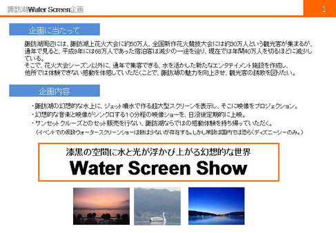 Water Screen PJ