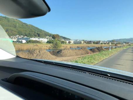 上川・江川橋付近の治水力UP