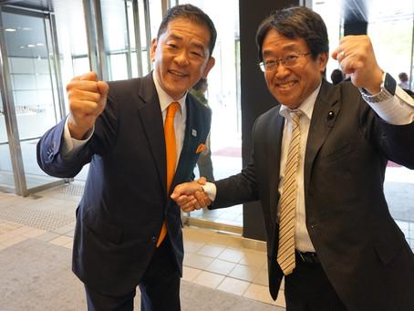 小松 裕 元参議院議員の国政復帰を期待します