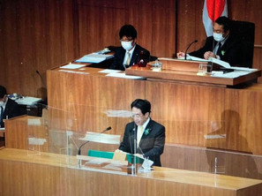 2月定例県議会での一般質問