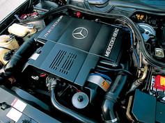 W124036 6L AMG engine
