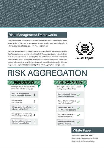 Risk Aggregation White Paper