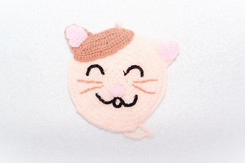 第 46 隻喵 粉紅歪鼻鼻喵