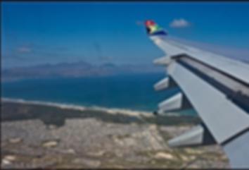 Kapstadt Anflug